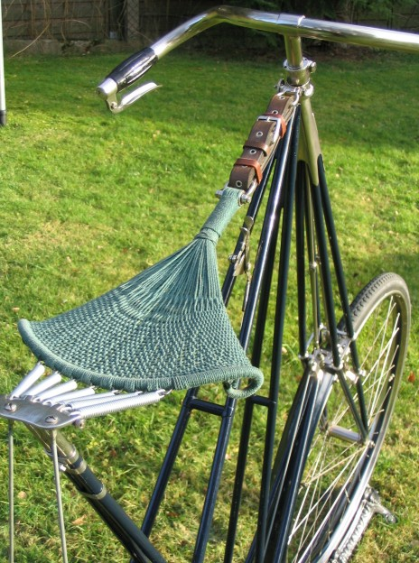 The woven hammock saddle